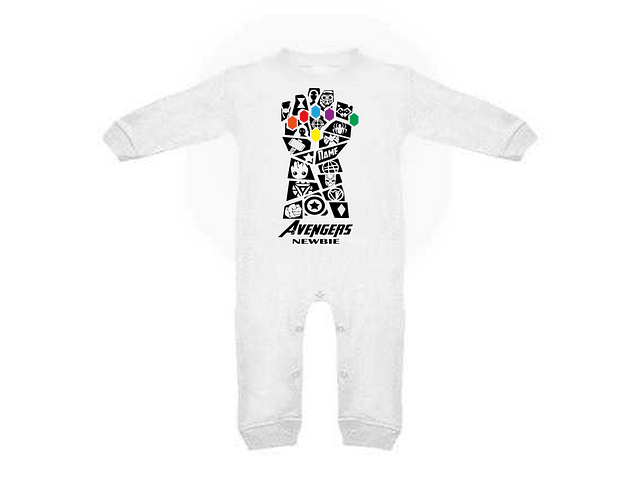Ropa Para Bebe Pijama Marvel Avengers End Game Baby Monster