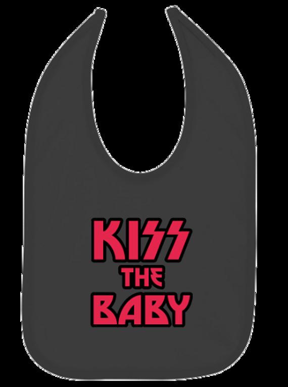 Ropa Para Bebe Baberos kiss the baby Baby Monster