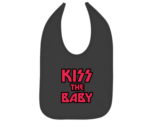 Ropa Para Bebe Baberos kiss the baby Baby Monster