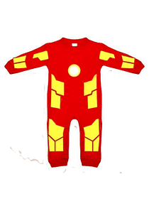 Ropa para bebe pijama marvel  iron man baby monster