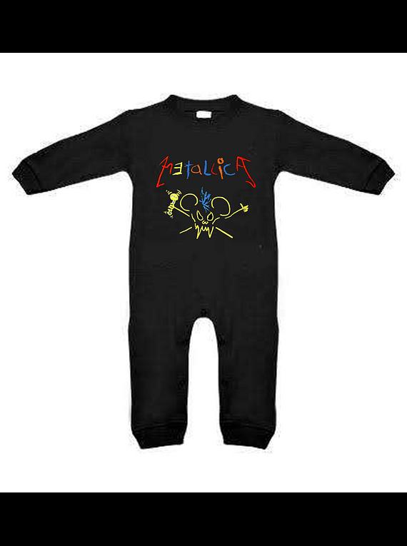 a154f032f Ropa para bebe pijama Rock metallica crayola baby monster