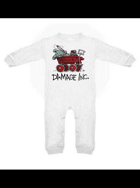 Ropa para bebe pijama Rock Damage Inc. Metallica baby monster