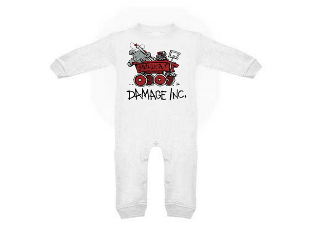 Ropa para bebe pijama Rock Damage Inc. Metallica baby monster