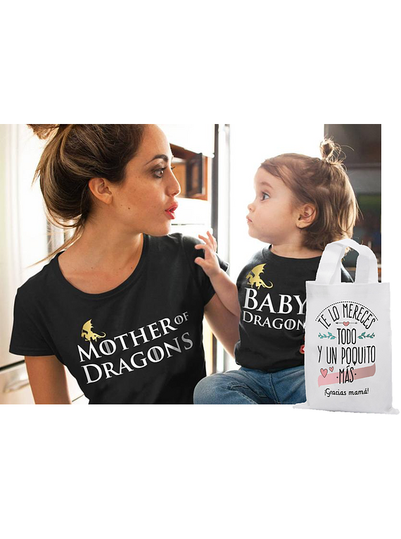 body kit bebe y  Mamá Game of thrones