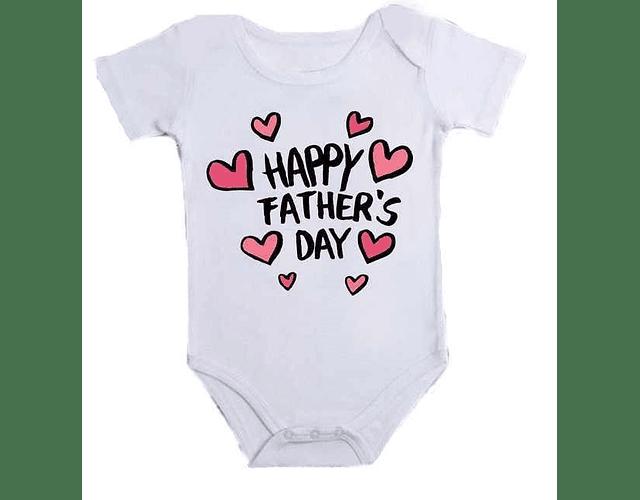 Ropa Para Bebe Body Bodie feliz día papá Baby Monster