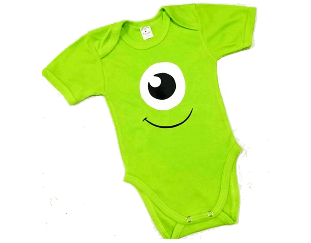 Ropa Bebe Body Bodie Monstruos  Mike Wazowski Baby Monster
