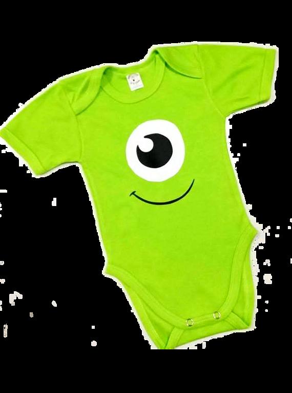 Body para bebe Monster Inc. Mike Wazowski
