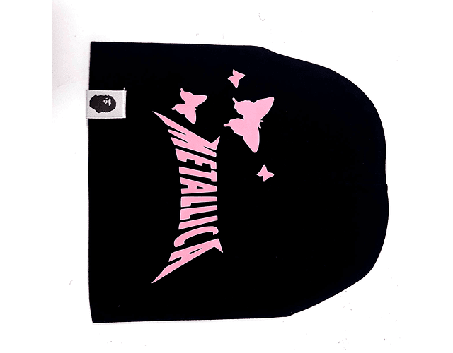 Ropa Bebe gorro rock metallica Buterfly Baby Monster