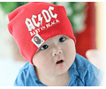 Ropa Bebe gorro rock AC/DC Baby Monster