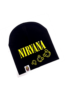 Ropa Bebe gorro rock Nirvana Baby Monster