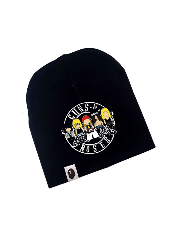 Ropa Bebe gorro rock Guns and roses Baby Monster