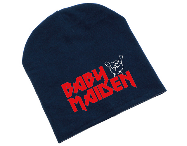 Ropa Bebe gorro rock iron maiden Baby Monster