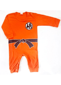 Ropa para bebe pijama Dragon ball Z Goku baby monster