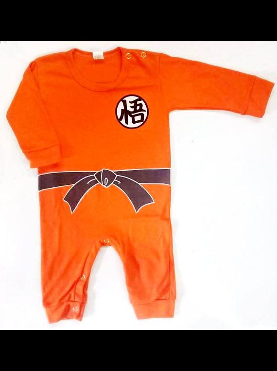 Ropa para bebe pijama Dragon ball Z Goku baby monster