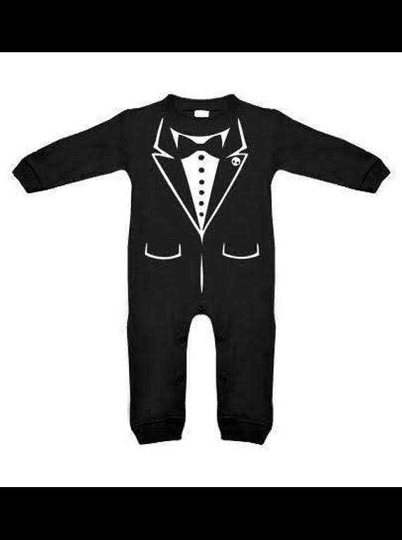Ropa para bebe pijama smoking elegante  baby monster