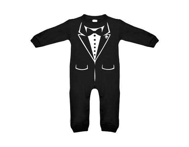 Ropa para bebe pijama smoking elegante  baby monster