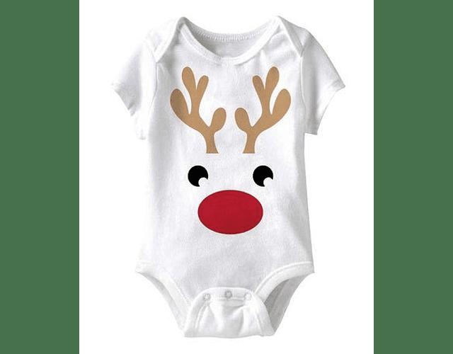 Ropa Bebe Body Bodi reno de navidad Baby Monster