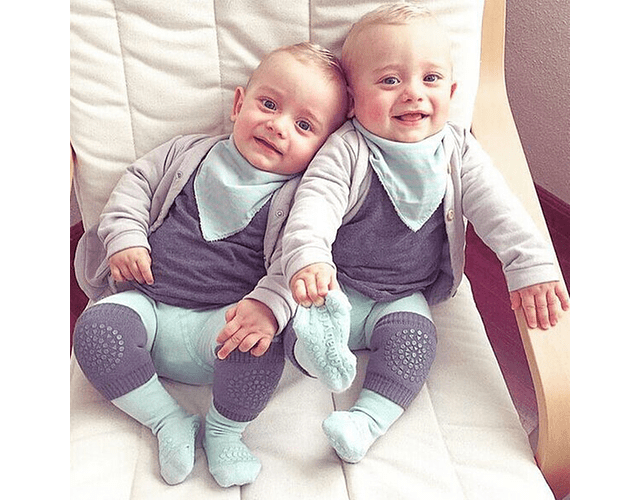 Rodilleras para gatear medias antideslizante para rodillas baby monster