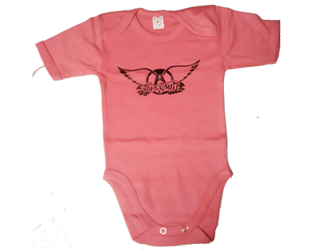 Ropa Bebe Body Bodie rock Aerosmith Baby Monster
