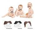 Novelty Funny Mustache Baby Boy Girl Infant silicone Pacifier Orthodontic Dummy Beard Nipples BY0000