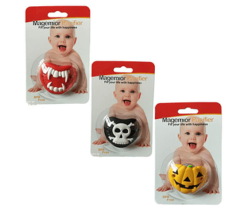 Halloween Grade Silicone Funny Baby Safe Nipple Pacifier Kids Feeding Nipple Cute Soothers For Newborn Baby Girl Boy A8754