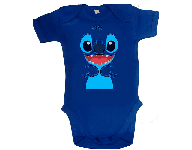 Body para bebe stitch Baby monster