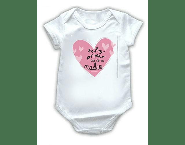 Ropa Para Bebe Body Bodi Feliz primer día de la madre