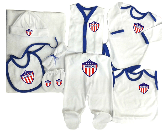 Set Primera Muda Futbol Junior Ropa Para Bebe Baby Monster