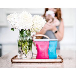 Set 4 Bolsas Reusables para Leche Materna