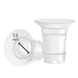 2 Insertos flexibles para copas tallas chicas