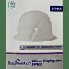 2 Diafragmas de silicona. ENVÍO el 28-10