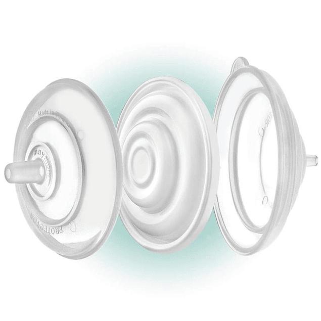 Set (2) Válvula/Diafragma Protección Trasera