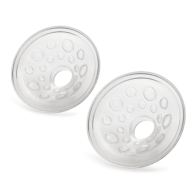 2 almohadillas de silicona