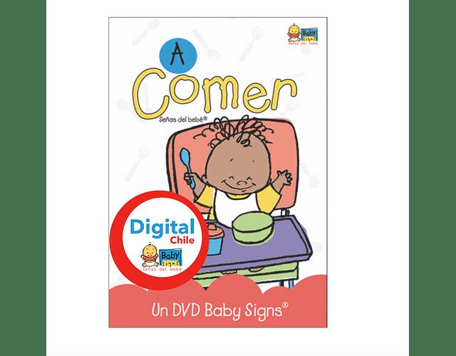 DVD A Comer - Formato Digital