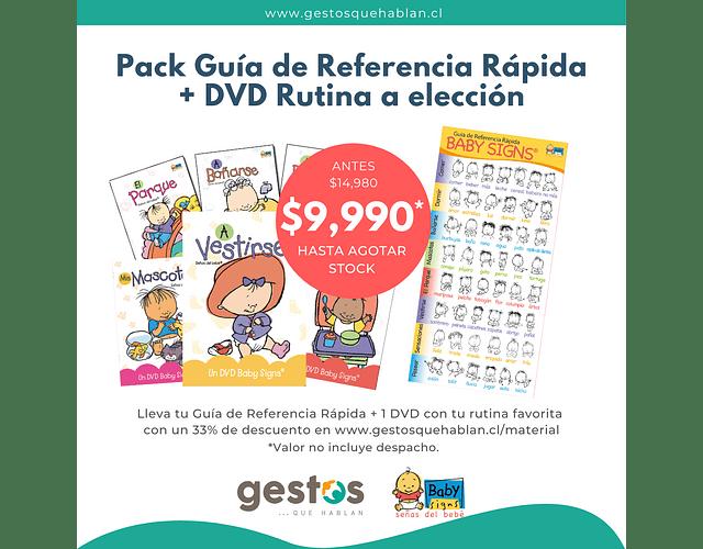 Pack Guía de Referencia Rápida + 1 DVD Rutina