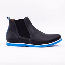 Chelsea Negro Azul