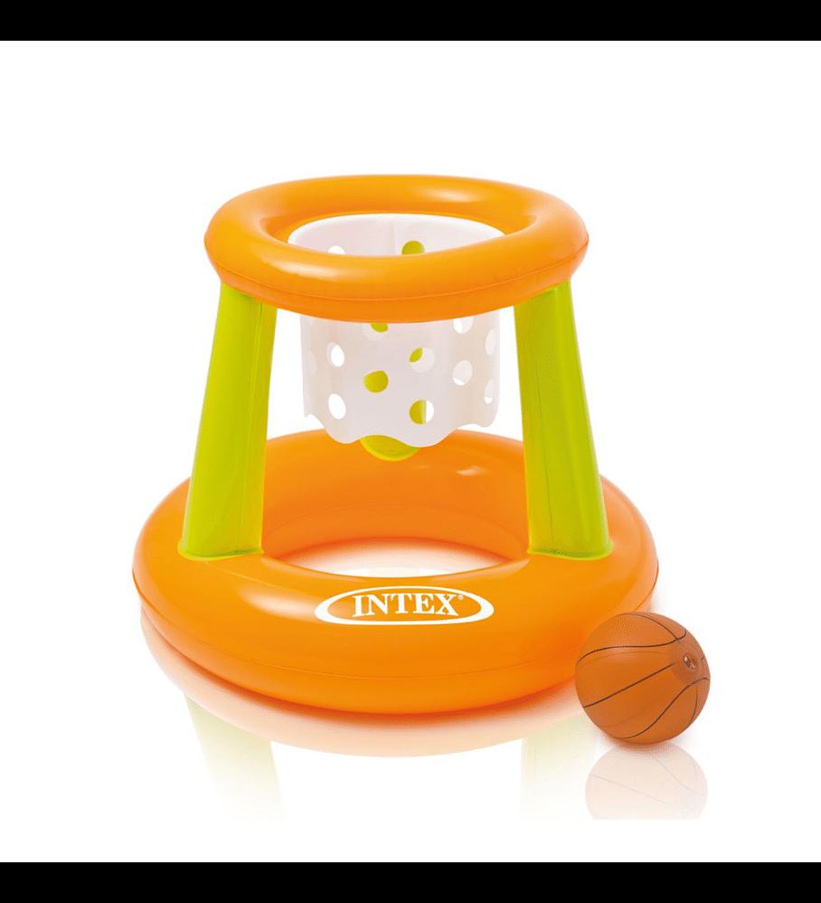 Juego Piscina Inflable Intex Aro de Basketball + Pelota Inflable 67 x 55 cm
