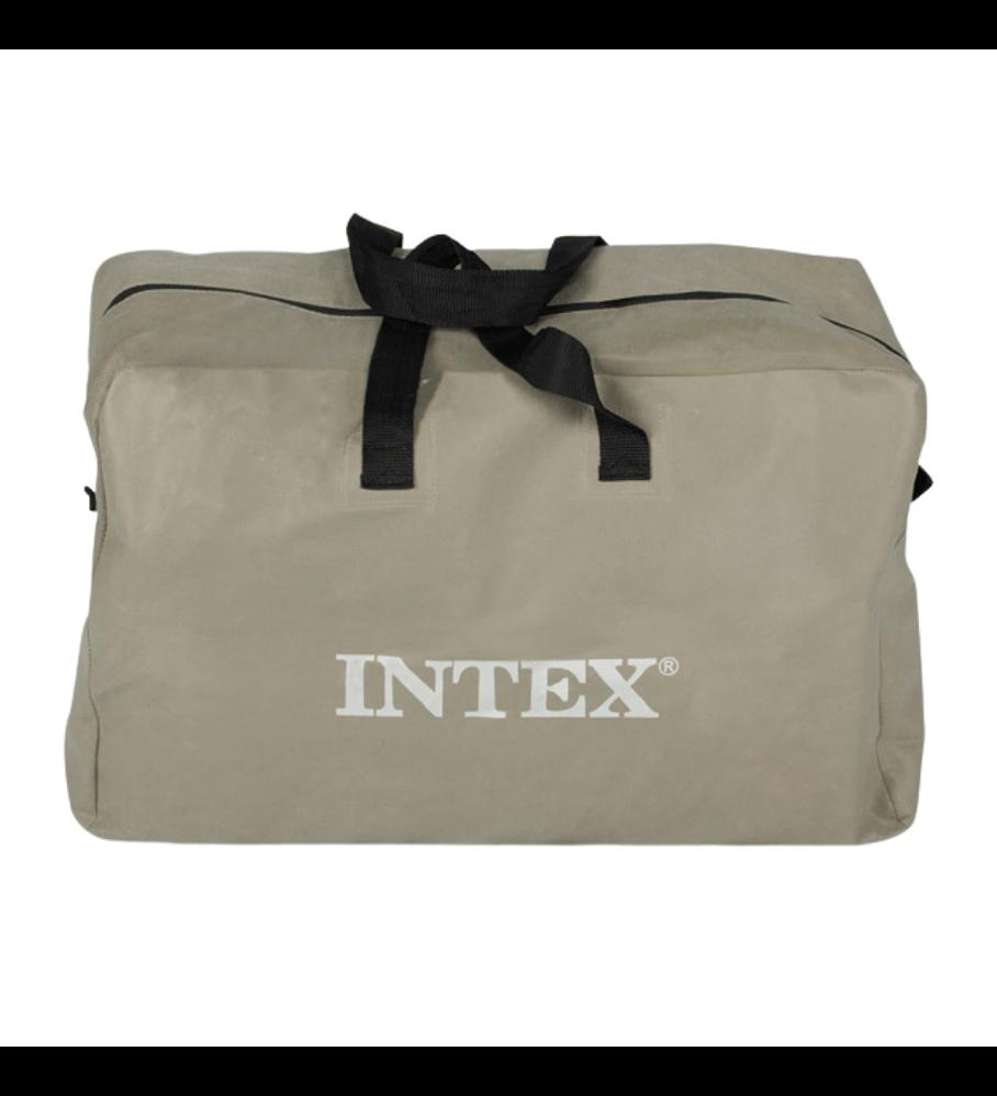 Bote Inflable Intex Excursion 5 Set + Remos + Inflador Capacidad 600 Kg