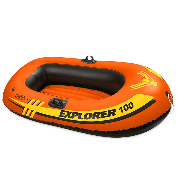 Bote Inflable Intex Explorer 100 Capacidad 55 Kg