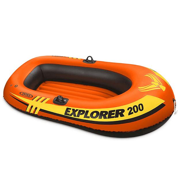Bote Inflable Intex Explorer 200 Capacidad 95 Kg