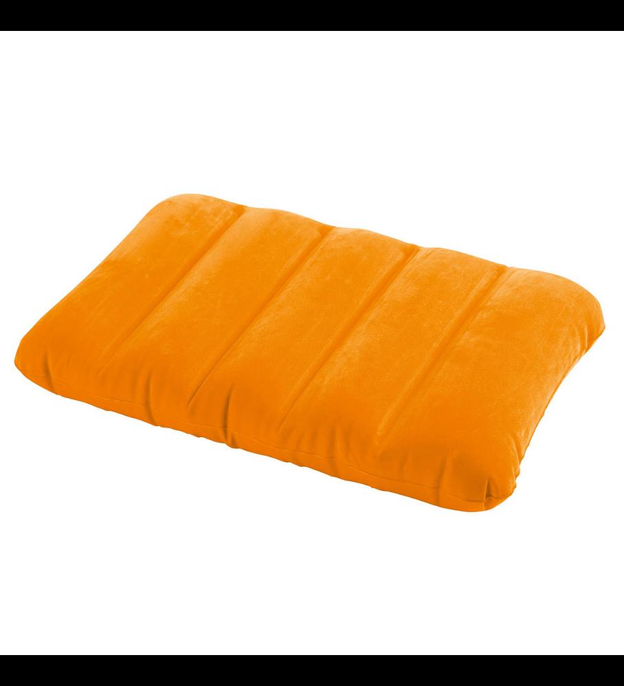 Almohadas Inflable Intex Naranja 43x28x9 Cms
