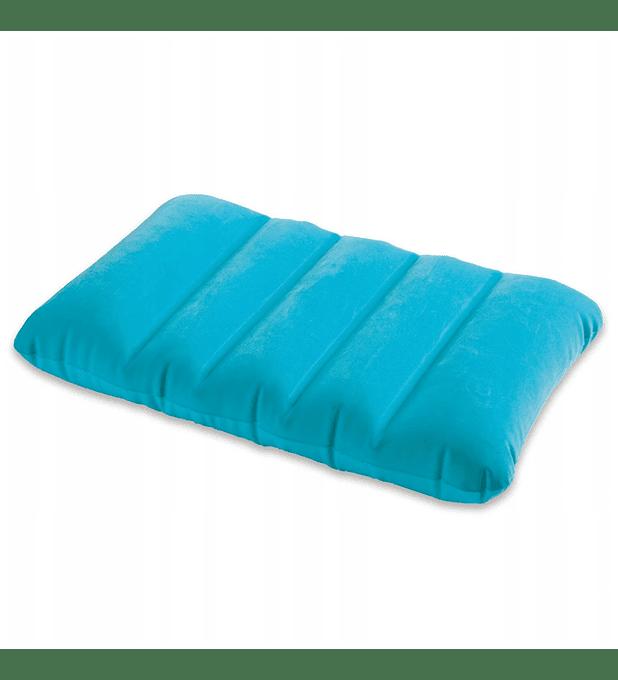 Almohadas Inflable Intex Azul 43x28x9 Cms
