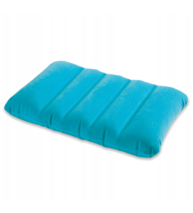 Almohadas Inflable Intex Azul 43x28x9 Cms
