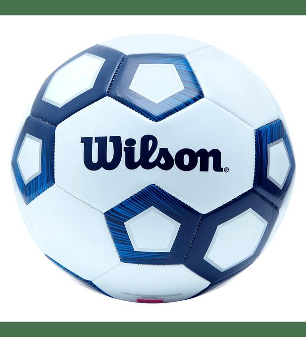 Balón Futbol Wilson Royalty Pentagon Pelota Tamaño 5