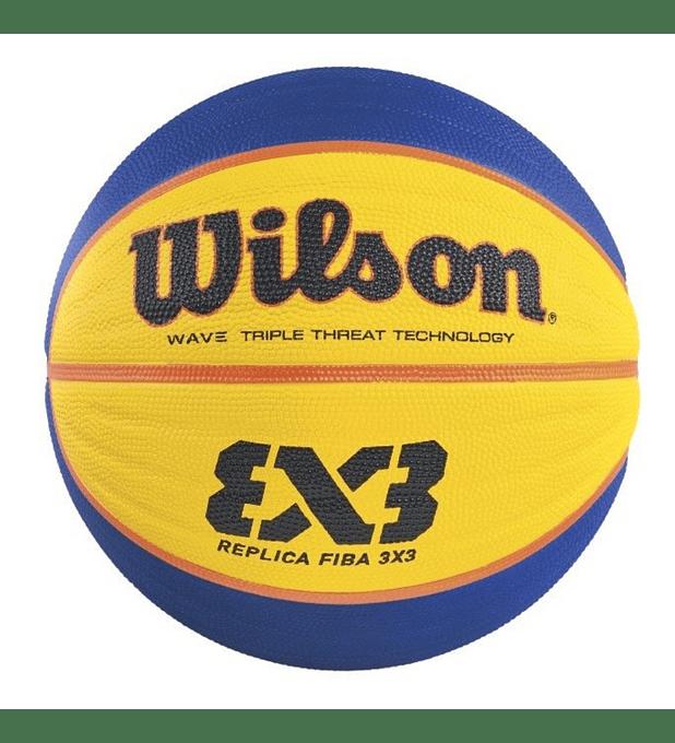 Balón Basketball Wilson FIBE 3x3 Replica Pelota Tamaño 6