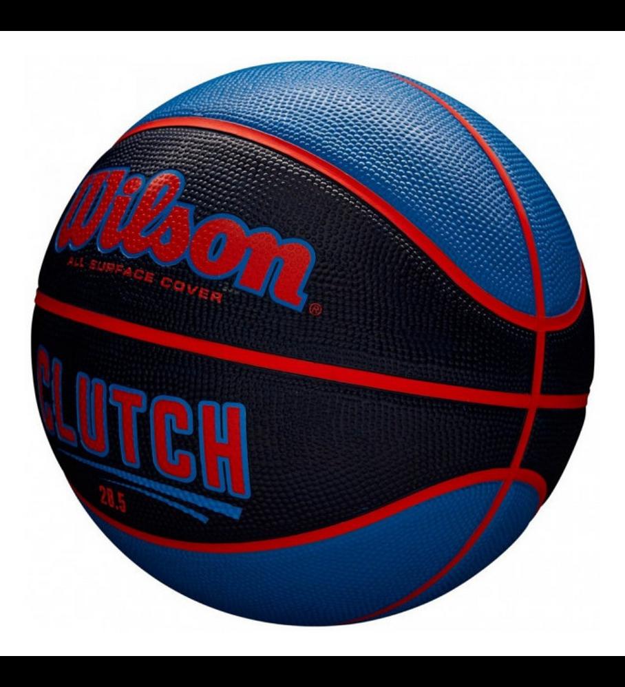 Balón Basketball Wilson Clutch Tamaño 6
