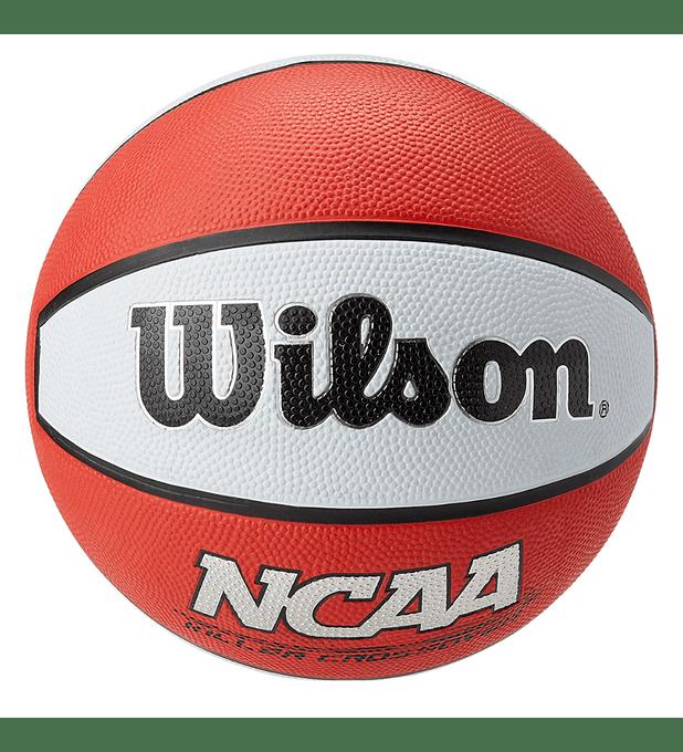 Balón Basketball Wilson NCAA Killer Crossover Tamaño 7 Rojo