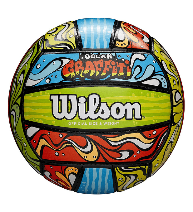 Balón Volleyball Wilson Ocean Graffiti Pelota Tamaño 5