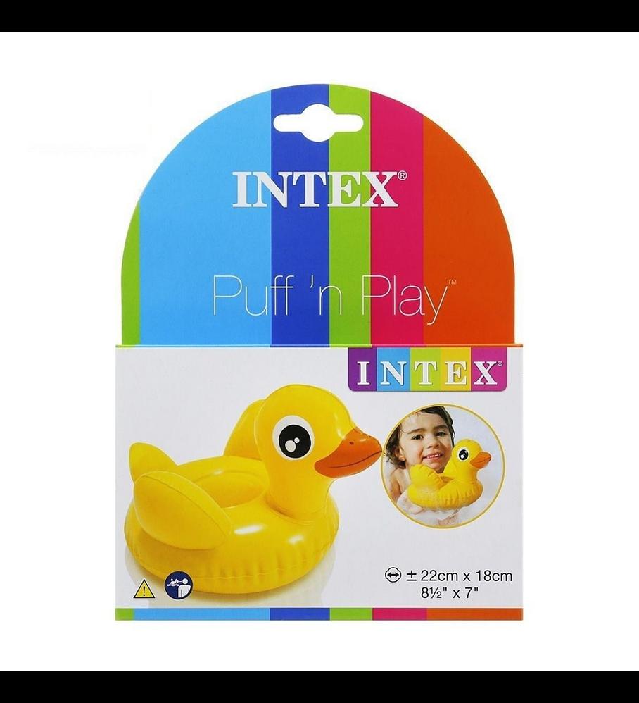 Juego Piscina Inflable Intex Mini Patito Puff 'n Play