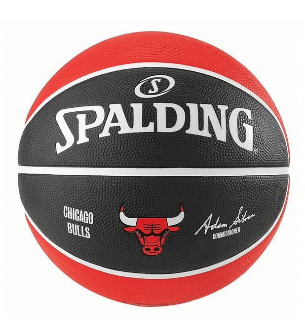 Balón Basketball Spalding NBA Teams Chicago Bulls Tamaño 7